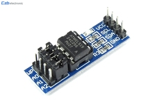 Cheap Sale 1PCS AT24C256 Serial EEPROM I2C Interface EEPROM Data Storage Module For Arduino Wholesale and Retail