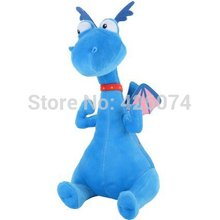 Doc McStuffins Sitting Stuffy Dragon Stuffed Animals For Girls Boys 30CM Kids Plush Toys Children Gifts