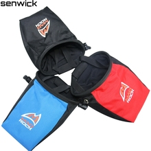 Blue Black Red Color Rock Climbing Chalk Bag Antiskid Mountaineering Powders Assorted Bag Rock prevent slippery powder bag(China)