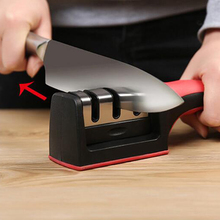 2016 New Arrival Hot Two Stages (Diamond & Ceramic) Kitchen Knife Sharpener Household Sharpening Stone Kitchen Grindstone Tools
