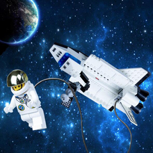 Space Series Discovery Space Shuttle Toys Mini Children Educational Building Blocks Toys Compatible With Bricks