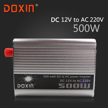 DC / AC 12V To 220V 500 W Watt Auto Off Grid inverter Car Power Inverter Inversor Universal Socket DOXIN ST-N004