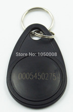 100pcs/bag RFID key fobs 125KHz proximity ABS tags discount numbered key tag access control keyfob TK4100/EM4100(China)