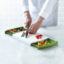Chop n Clear Cutting Board Multifunctional Chopping Blocks Drawer type Chopping Board Chopping Blocks(China)