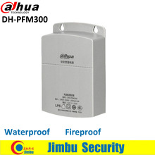 Dahua Outdoor Power Supply CCTV Adapter DH-PFM300 Waterproof Output 12V 2A Input 180~260V Power Switch for cctv camera(China)