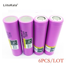 Liitokala 6PCS New 100% Original For Samsung 18650 2600 mAh Li ion ICR18650-26JM 3.7 V  battery