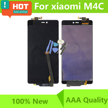 100% Tested LCD For Xiaomi Mi4C M4C Display Touch Sreen Digitizer Assembly For Xiaomi Mi 4C LCD Screen With Tools Free Ship(China)