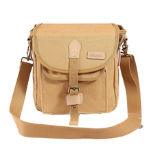 Waterproof canvas DSLR Slr Camera Bag Digital Video Recorder Shockproof Shoulder Bags for Sony Canon Nikon Olympus Pentax