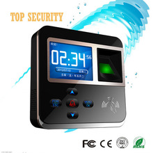 Good quality high speed TCP/IP color screen fingerprint and RFID time attendance and access control realand F211(China)