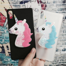 Buy 3D Unicorn Quicksand Liquid Soft Silicone Case Lenovo Vibe Shot Z90 Z90-7 Z90a40 Z90-3 Phone Cover Cartoon Diamond Funda for $3.42 in AliExpress store