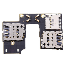 OEM for Moto G3 XT1540 XT1541 XT1548 Sim Card Memory Reader Tray Slot Holder Flex Cable Single Sim/Dual Sim