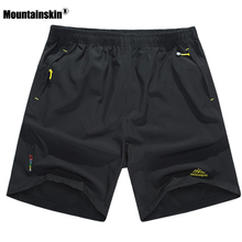 6XL Men's Summer Quick Dry Breathable Shorts Outdoor Sportswear Mountainskin Hiking Trekking Running Camping Male Trousers VA100(China)