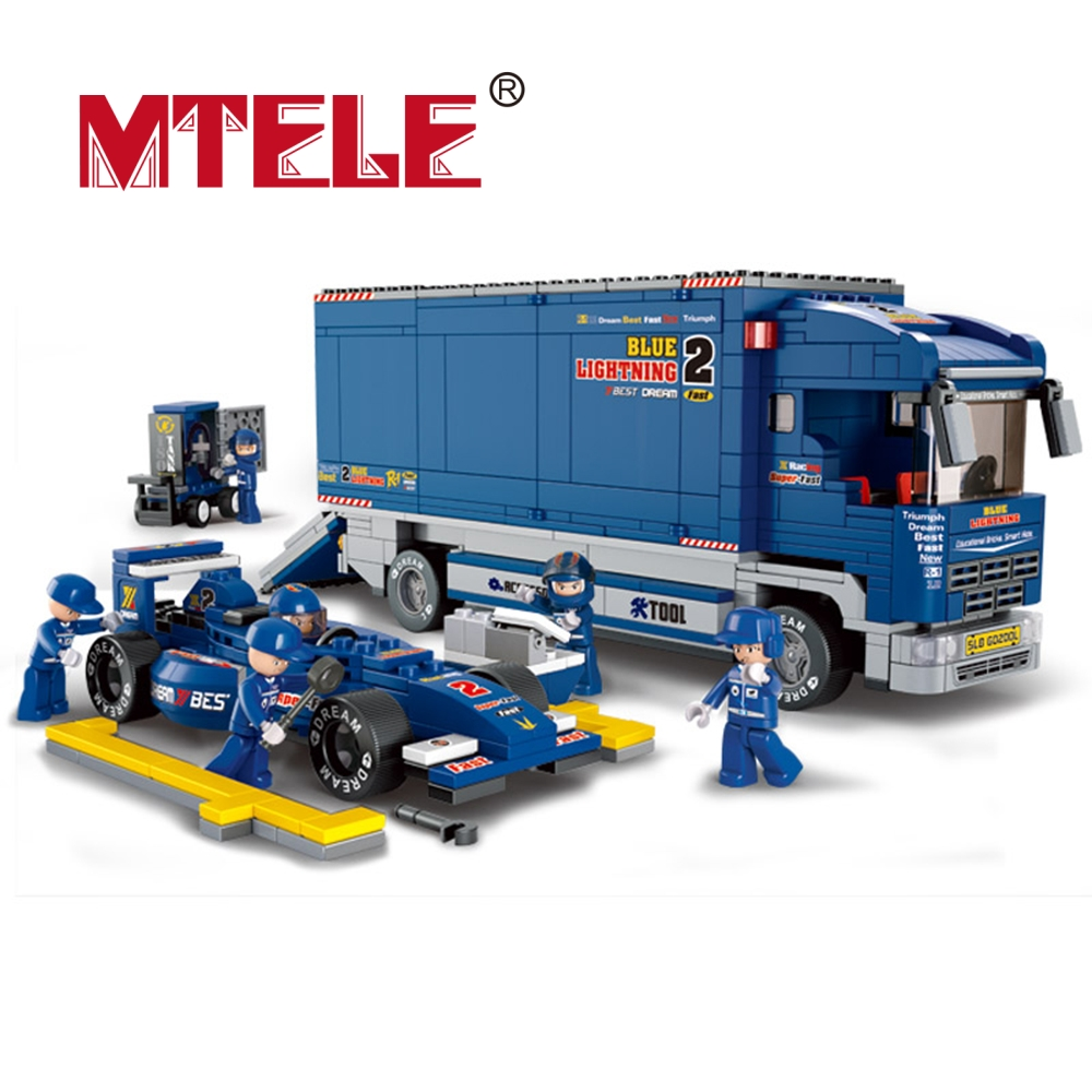 MTETE Powerful F1 Truck 641 Pcs Sluban ABS Plastic Building Blocks Learning Education Toy Compatible with lego<br><br>Aliexpress