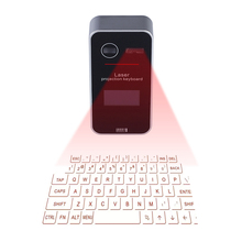 Portable Virtual Laser keyboard with Screen Mini Laser projection keyboard and Mouse for Ipad Iphone Tablet PC Notebook(China)