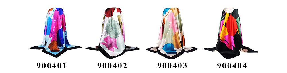 Square Silk Scarf (8)