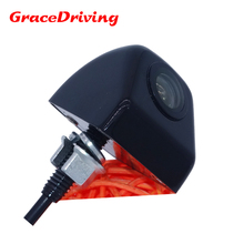 Black  car rear reverse camera night vision +shock proof +HD CCD  apply to various cars supply from stock during promotion
