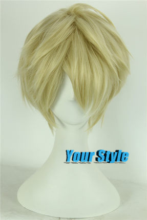 APH Hetalia England Cosplay Axis Powers Arthur Kirkland Hair Wigs Short Pixie Cut Male Wig Blonde Peruca Cosplay Perruque Homme <br><br>Aliexpress