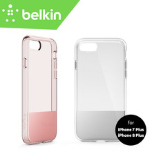 "New Belkin Original SheerForce Protective Case for iPhone 8 Plus for iPhone 7 Plus 5.5"" Drop Protection F8W852btC01 with Package(China)"