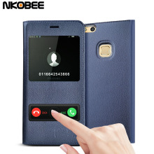 Buy Huawei P10 Lite Case NKOBEE Original Phone Case Huawei P10 Lite Flip Leather Cover Huawei Mate 10 Lite Case Cover for $4.74 in AliExpress store