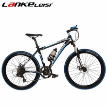 LANKELEISI 26Inch Ebike 240W Battery 36V Electric Bike 7 Speed 6 Motor Gears Mountain Bicycle Torque Transducer Assistance(China)