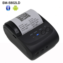 2Inch Standby Time 5~7 days Android 4.2.2 Bluetooth Wireless Mobile 58mm Mini Thermal Receipt Printer Portable with SDK