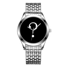 B-8201 Mens Watches Stylish Trend Design Brand Your Own Watches OEM Custom Logo Watch Stainless Steel Band Private Label Watch(China)