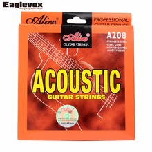 Acoustic Guitar Strings Stainless Steel Coated Copper Alloy Wound Alloy Wound Alice A208(Hong Kong)