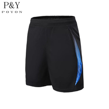 2017 Professional Gym Running Fitness Shorts Badminton Table Tennis Shorts Men Sports Shorts With Pockets Sportswear