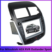 2Din Car dvd gps for Mitsubishi ASX RVR Outlander Sport Peugeot 4008 Citroen C4 Aircross radio multimedia system bluetooth MAP