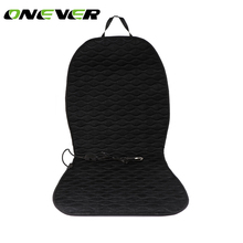 Onever DC 12V Car Heated Seat Cushion Heating Pad Cover Built-In Thermostat HI/LO Mode for Cold Weather and Winter