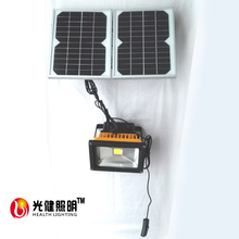 20W led solar camping light switch dimming  IP65 solar charge indoor use solar light LED solar flood light