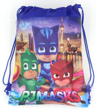 1pc 36*27cm PJ Masks Gift Bag backpack Cartoon backpack Gift Bag Kid Boy Birthday Party supplier