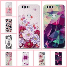 Silicone Cases Huawei Honor 8 Phone 3D Cartoon Mobile Fundas 5.2 inch Back Cover Coque - Shop1038443 Store store
