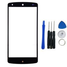 For LG Google Nexus 5 D820 D821 Front Touch Screen Outer Glass Lens Panel Replacement+ Free Tools, Free Shipping&Tracking Number(China)
