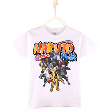 2017 Special Discount Children T Shirts Cotton Japanese Cartoons Naruto Kids T-shirt Boys Baby Clothes Girls Tops Free Shipping