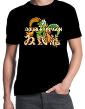 Double Dragon Inspired Classic Street Arcade Console Fight Game T-Shirt 2017 New 100% Cotton Top Quality  Top Tee T Shirt