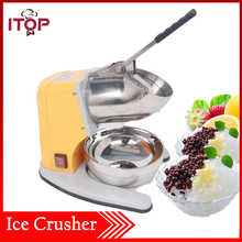 ITOP COMMERCIAL ICE SHAVER CRUSHER SHAVING PROCESS SNOW CONE MAKER MACHINE DEVICE NEW(China)