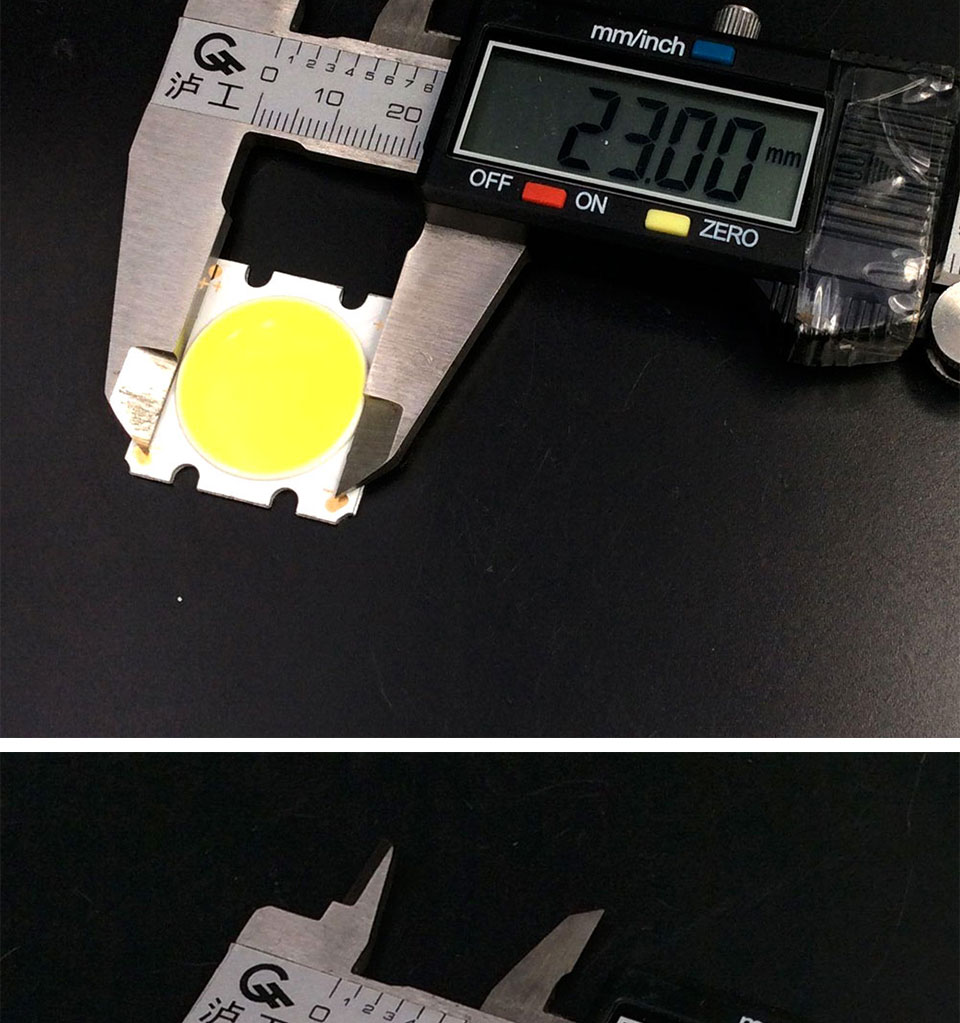 cob led 28mm square cob chip light bulb lamp 15W (5)