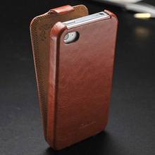 ARTISOME Flip Leather Case for iPhone 4 4S Phone Cover Leather Filp Case for iPhone 4 S4 Coque Original Luxury Retro Design(China)