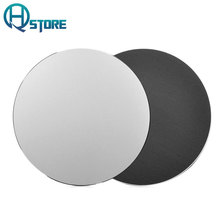 Aluminum Gaming Mouse Pad Metal Round Notebook Slim Computer Mouse Pad Office Gamer Mouse Pad Mice Mat For Apple MackBook Laptop
