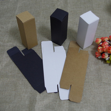 free shipping 10/15ml/20ml/30ml oil dropper bottle kraft Paper Packaging Box DIY Lipstick Perfume packing box for tubes(China)