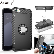 AXBETY For xiaomi redmi note 5a 16GB Cases Combo Magnetic Ring armor Cover Protective shell Case SFor redmi note 5A 32GB Case(China)