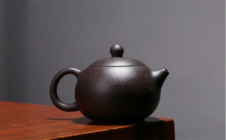 170ML yixing tea pot purple clay xi shi zisha teapot ore beauty chinese kung fu kettle suit puer black tea with gift box 4
