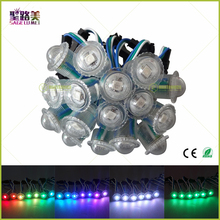 DC5V 16mm Diameter 1LED WS2811 IC LED Pixel String Module Digital Fullcolor Light Waterproof RGB LED Module Christmas Decorative