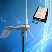 400W Wind Turbine Kit; 400W 24V Wind Generator + Wind Turbine Charge Regulator, Imported NSK Bearings, Low Noise, CE Certificate