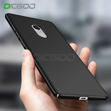 OICGOO Plastic Matte Case For Xiaomi Redmi Note 4 Full Cover Shockproof Cases Luxury Hard For Xiaomi Redmi Note 4X Phone Case(China)