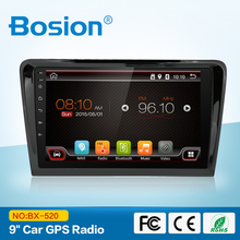 2GB New Latest 2 din 9'' Android 6.0 Car GPS Stereo Radio Tape Recorder Support Steering wheel for VW VW BORA 2012-2017