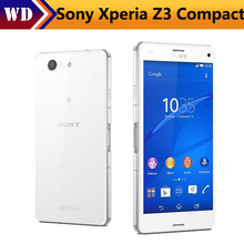 "Original Sony Xperia Z3 Compact D5803 GSM 4G LTE Android Phone Quad-Core 2GB RAM 16GB ROM 4.6"" WIFI GPS 2600mAh Refurbished"