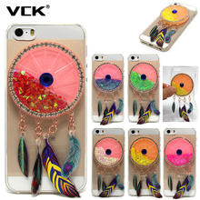 VCK For Infinix Hot 4 X557 Infinix Note 3 X601 Diamond feather Wind chimes Back TPU Case Silicone Cover