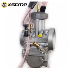 ZSDTRP Best Quality 33 34 35 36 38 40mm Keihin Carburetor Carburador Universal 2T 4T Engine Motorcycle Scooter UTV ATV 150-600cc(China)